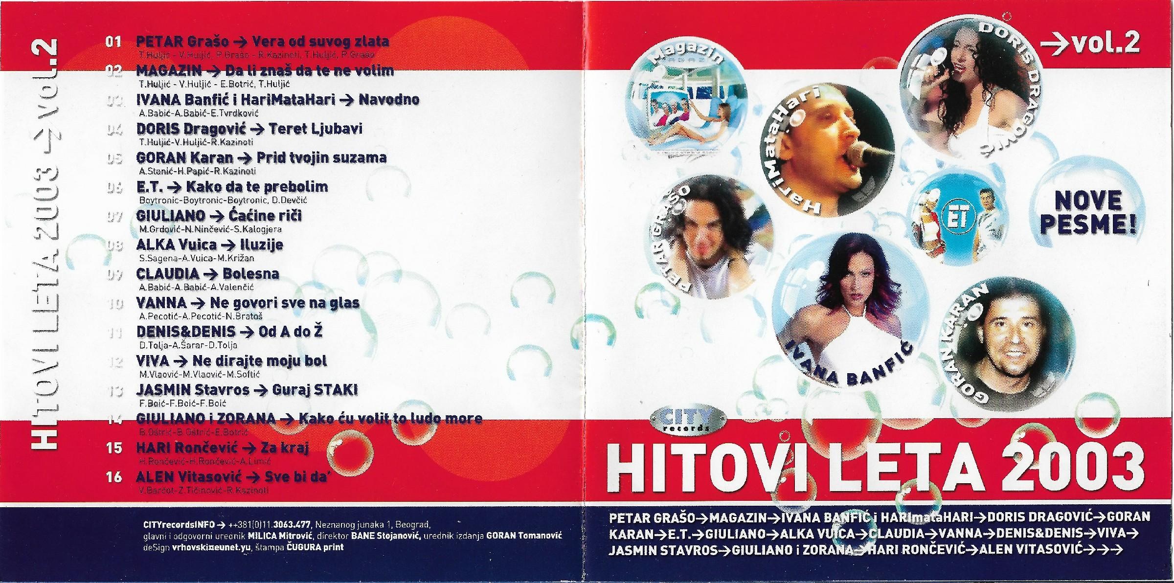 HL 2003 Vol 2 1