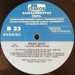 Sinan Sakic - Diskografija 36822390_Ploca_B