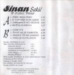 Sinan Sakic - Diskografija 36824121_Kaseta_Zadnja