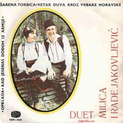 Duet Milica i Rade Jakovljevic 1967 - Singl 35666384_Duet_Milica_i_Rade_Jakovljevic_1967-a