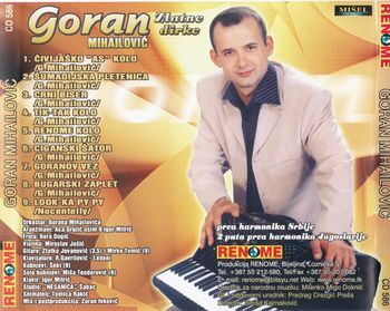 Goran Mihailovic 2003 - Zlatne dirke 39347255_zadnja